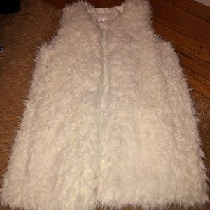 Ivory Fur Vest